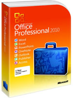Hosted Microsoft Office Professional 2010