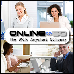 Online50 provides shared access to software and data from anywhere at any time