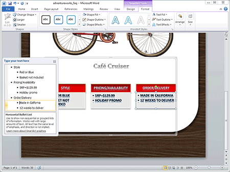 Hosted Microsoft Word 2010