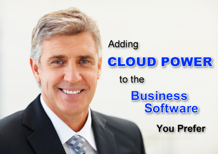 You can add cloud power to the software you prefer